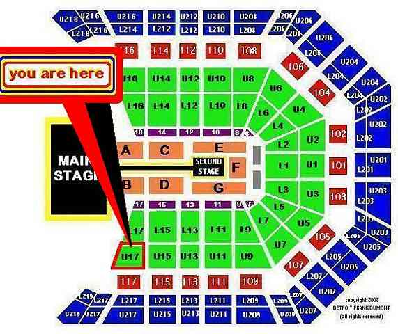 Section 17 / Row N / SEATS 9-10 $750.00