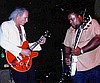 Frank jamming with Larry McCray.