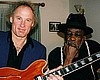 Frank with John Lee Hooker